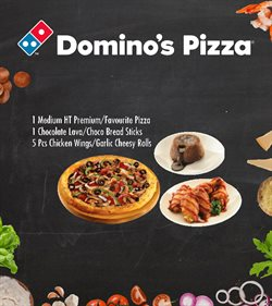 Katalog Dominos Pizza ( 29 hari lagi )
