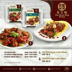 Katalog The Duck King ( Kadaluarsa )