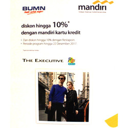 Merk Fashion Terkenal promo di katalog The Executive di Manado