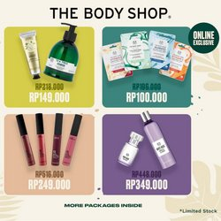 Katalog The Body Shop ( Sebulan lebih )