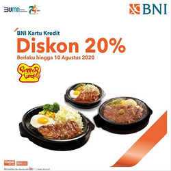 Kupon Pepper Lunch ( 6 hari lagi )