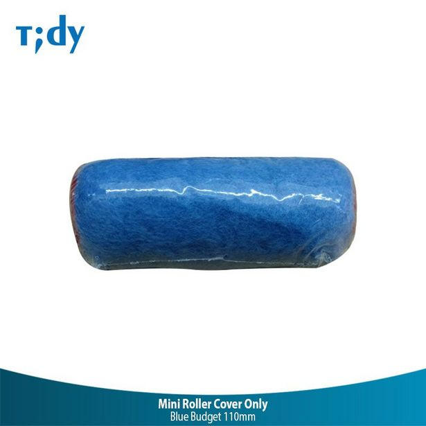 Tidy Blue Budget Mini Roller Cover Only 110Mm seharga Rp 5000