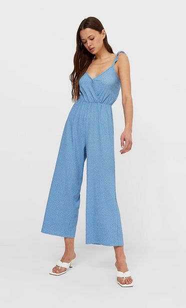 Strappy jumpsuit with confetti print seharga Rp 379900