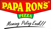 Logo Papa Ron's Pizza